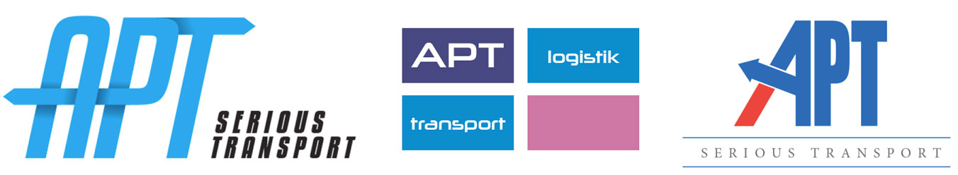 Apt Logistik Logos Proposals