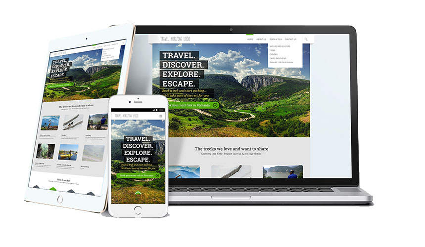 Travel Horizons Web Design Services