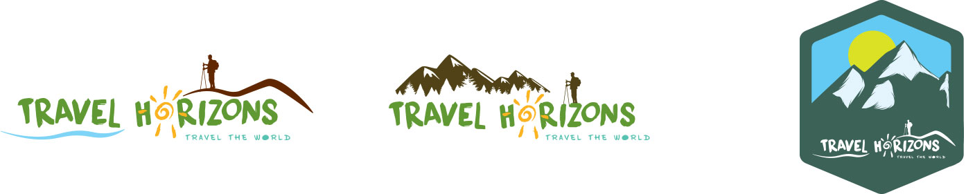 Travel Horizons Logos Proposals